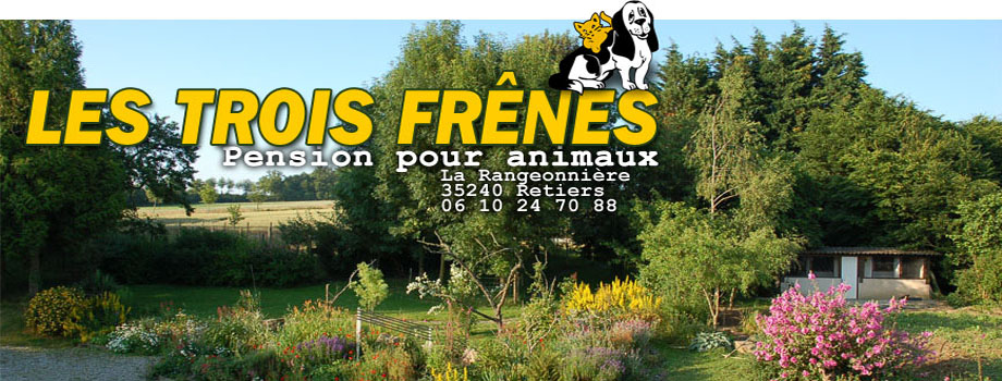 LES TROIS FRENES : kennels for dogs and cats